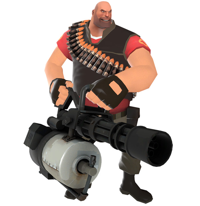 Heavy class in Team Fortress 2