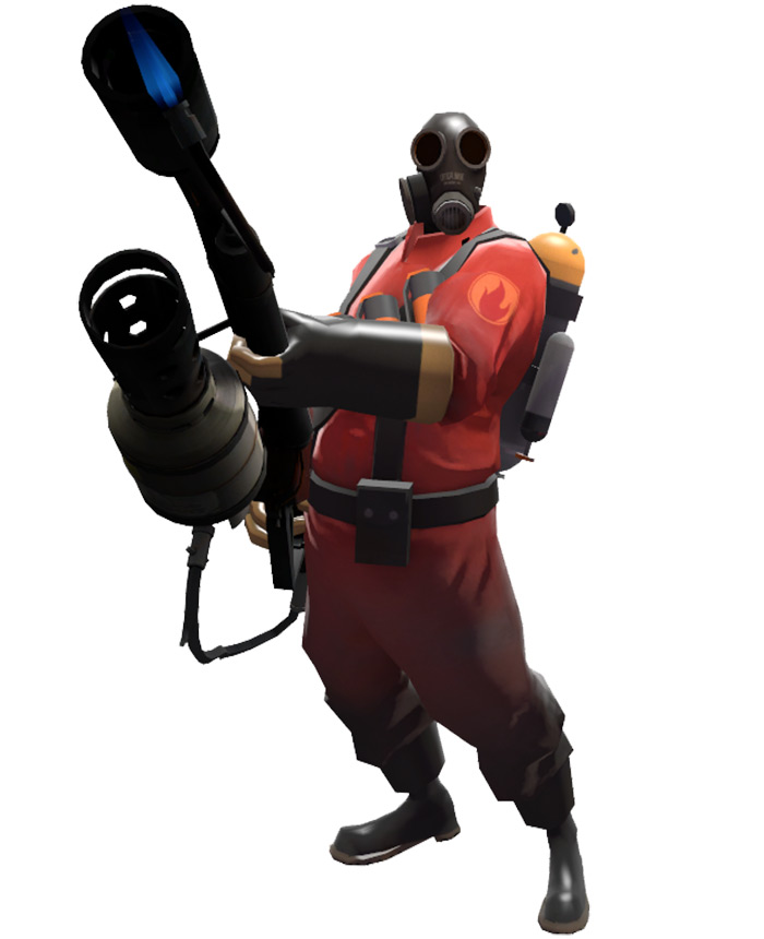 Pyro class in Team Fortress 2