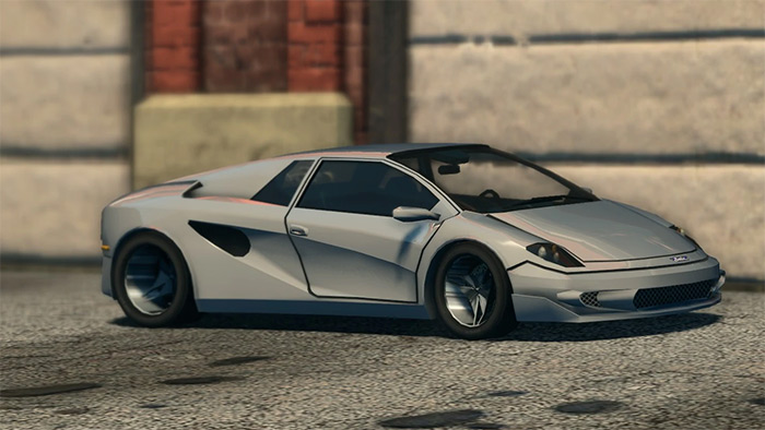 Attrazione car from Saints Row 3