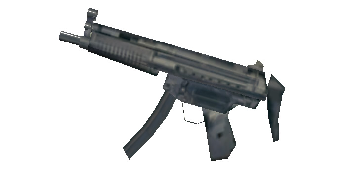 MP5 in Vice City