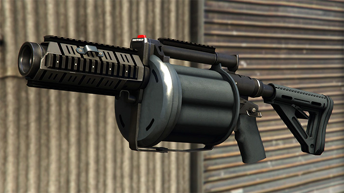 Grenade Launcher in GTA V