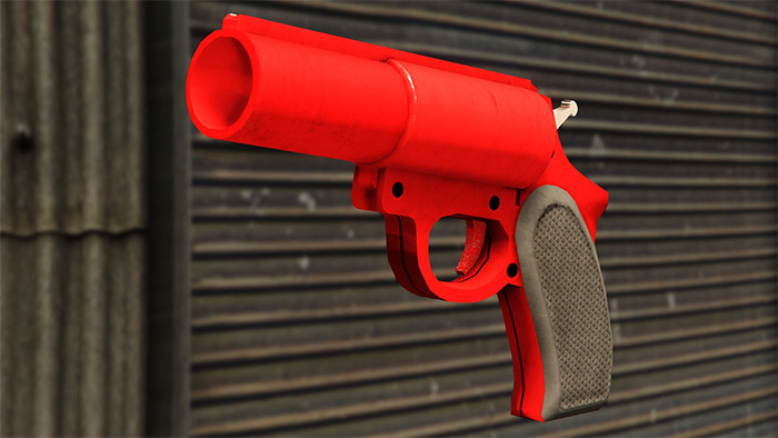 Flare Gun weapon in GTA 5
