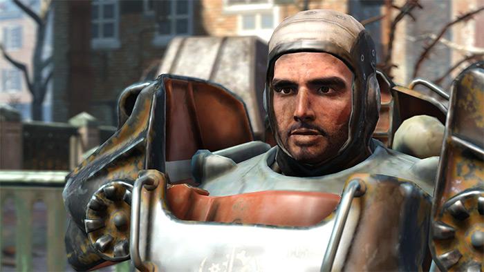 Paladin Danse companion in Fallout4