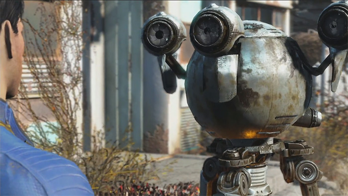 Codsworth in Fallout 4