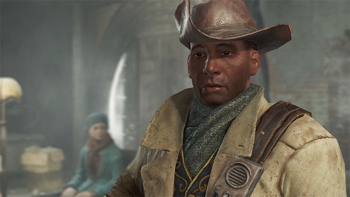 Preston Garvey Fallout 4 companion