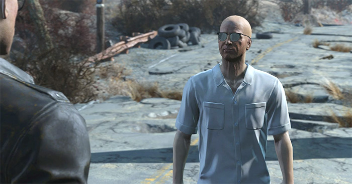 Deacon companion in Fallout 4