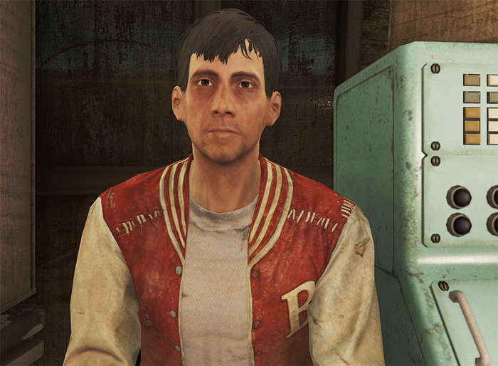 Travis Miles companion from Fallout 4