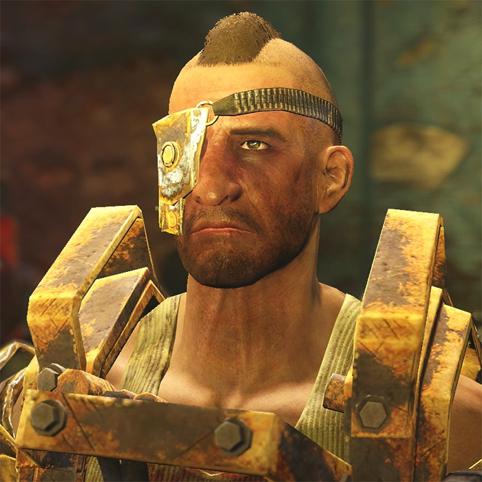 Porter Gage Fallout 4 companion