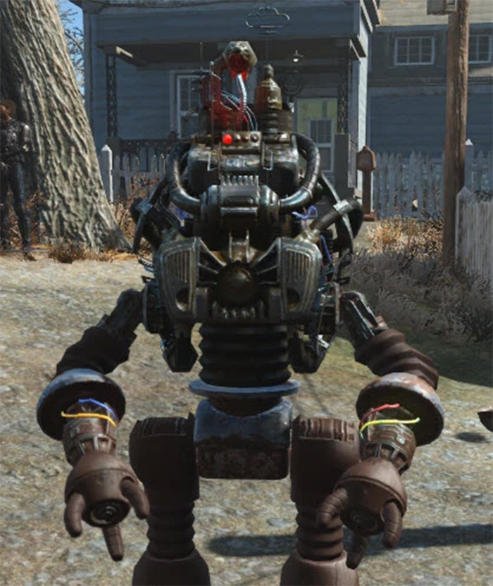 Automatron companion from Fallout 4