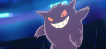 Gengar happy from anime