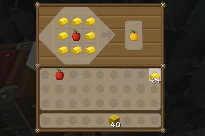Enchanted Golden Apple in Minecraft