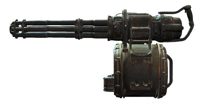 Ashmaker Minigun in Fallout 4