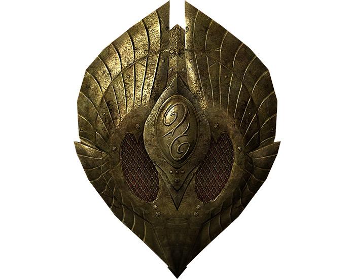 Herebanes Fortress shield in Skyrim