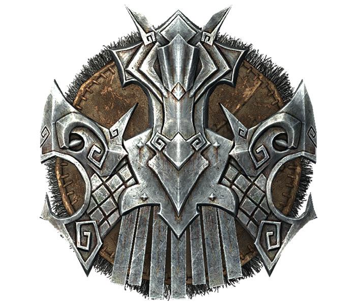 Nordic Shield in Skyrim