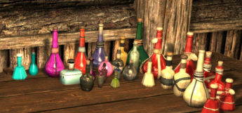 Modded alchemy recipes and potions