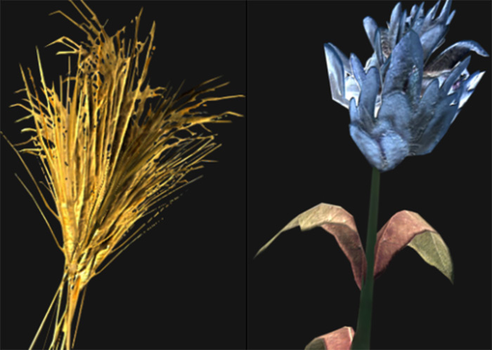 Blue Mountain Flower and Wheat alchemy