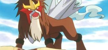Entei legendary dog