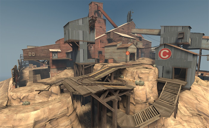 pl_upward map in TF2