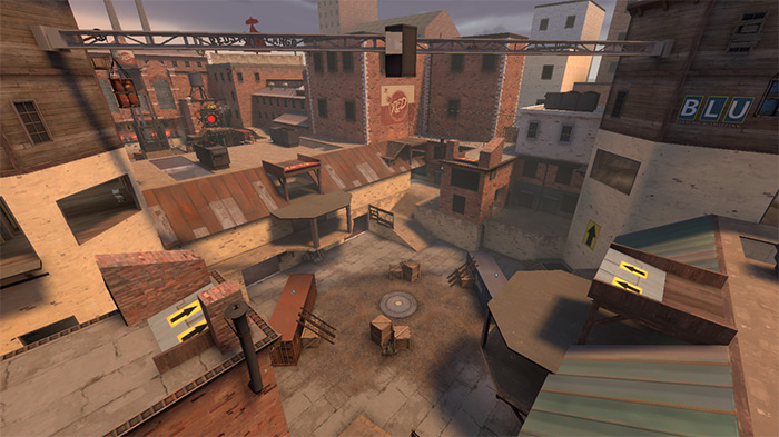 pass_brickyard TF2 maps