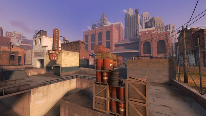 mvm_mannhattan TF2 map design