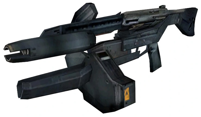 AR2 Rifle weapon in Half Life 2