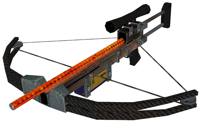 Crossbow Half Life 2 weapon