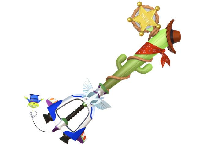 Favorite Deputy Toy Story KH3 Keyblade