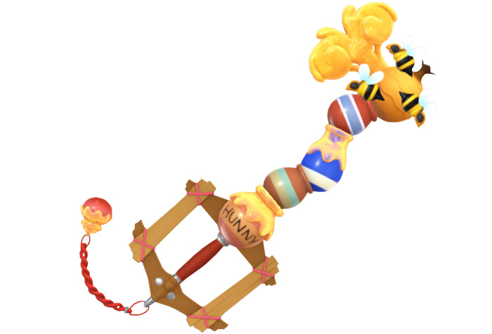 Hunny Spout keyblade in KH3