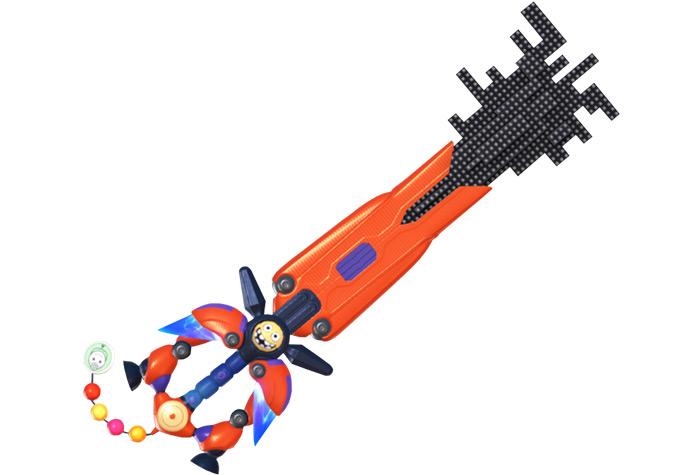 Nano Gear keyblade from KH3