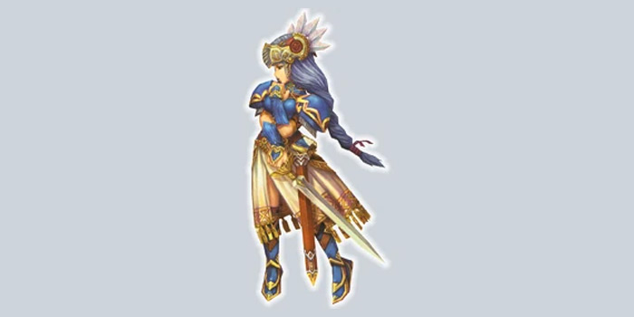 Valkyrie character from Radiata Stories