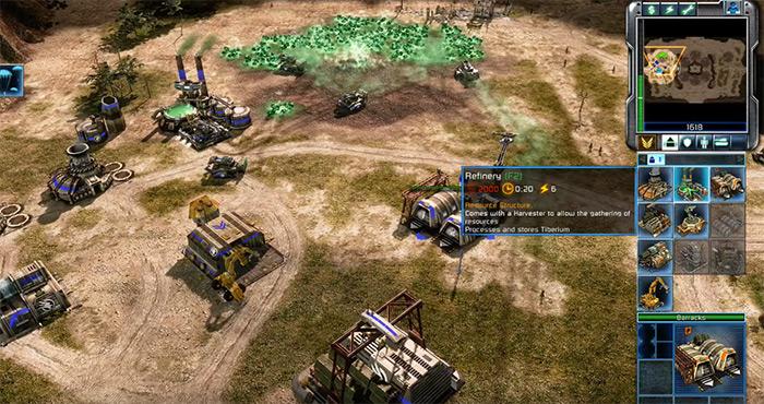 C&C 3 Tiberium Wars game