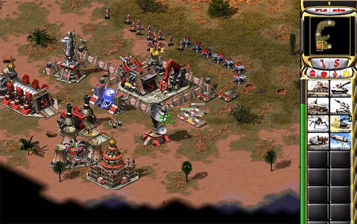 Red Alert 2 C&C game