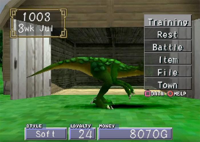 Monster Rancher 2 PS, best monster rancher game