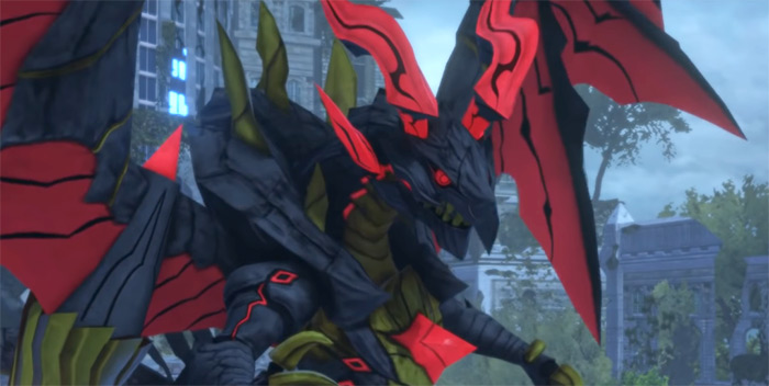 Bahamut in WoFF, the strongest mirage