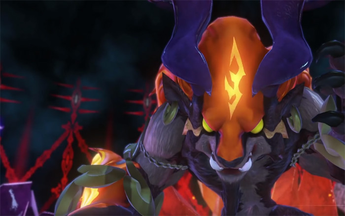 Ifrit boss mirage in WoFF