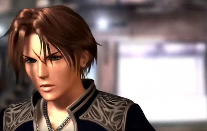 Squall Leonhart in FF8