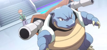 Blastoise from the anime Pokemon Origins