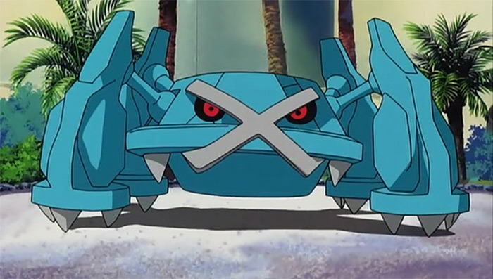 Metagross from the anime