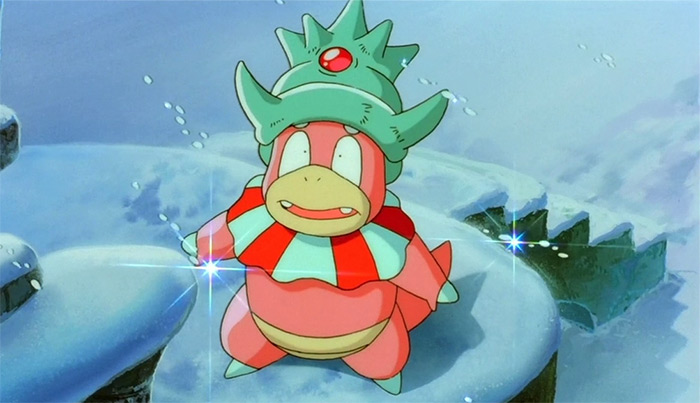 Slowking anime pokemon