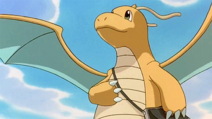 Dragonite, the smartest Dragon pokemon