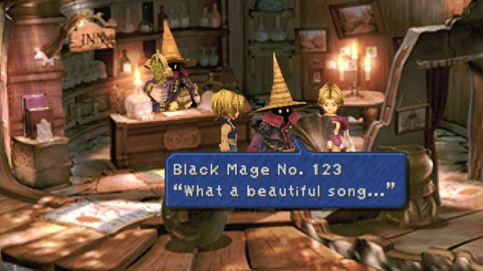 Black Mage Village from FF9