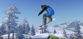Screenshot from The Snowboard Game, released 2018