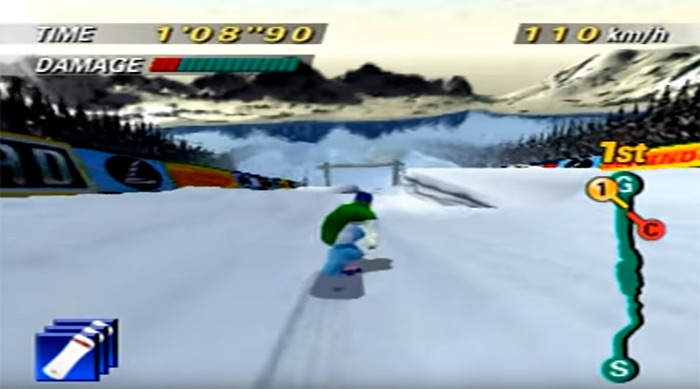 1080 Snowboarding game, the best snowboarding video game