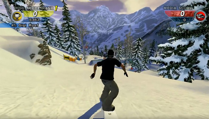 Amped 2 game screenshot