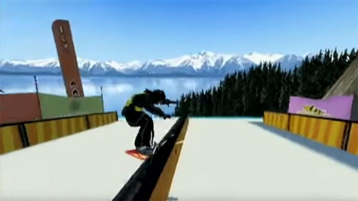Shaun White Snowboarding Road Trip screenshot