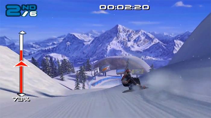 SSX 3 video game screenshot