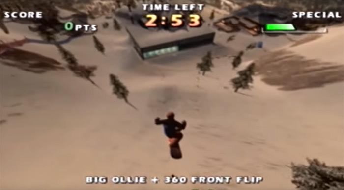 Shaun Palmer's Pro Snowboard screenshot