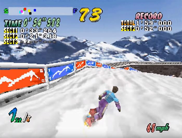 Cool Boarders 2 screenshot