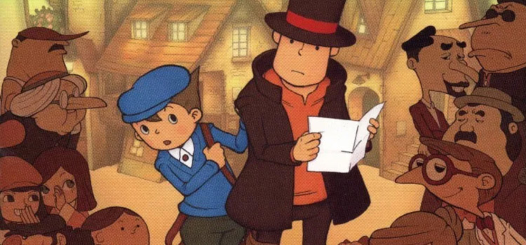 Best Professor Layton OST Songs From All Games