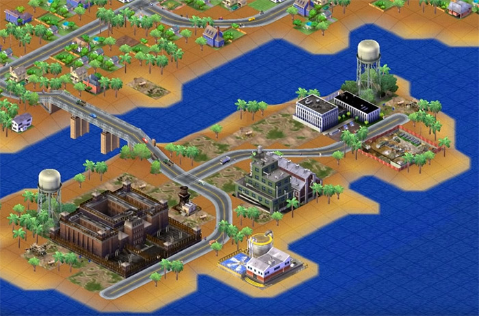 Simcity 3000 gameplay